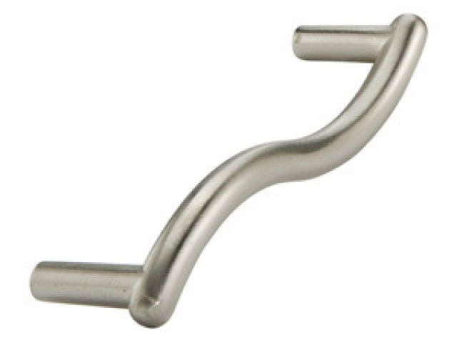 Satin Nickel Fusilli Pull