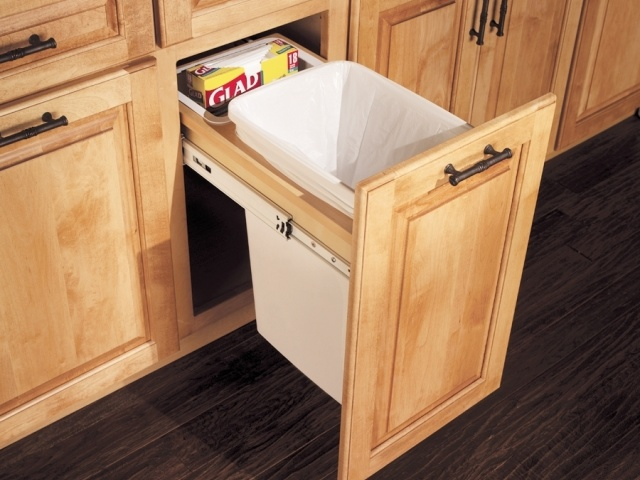 Top Mount Wastebasket (Single)