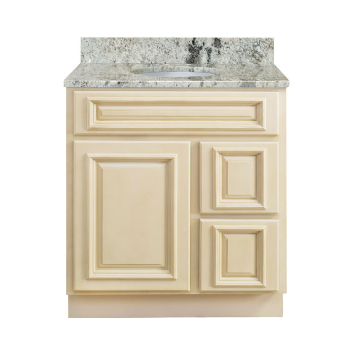 Walnut Ridge Cabinetry Bathroom Antique White Vanity